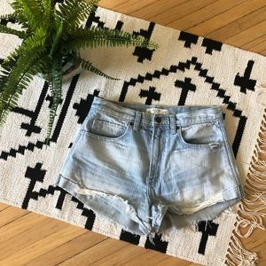 Abercrombie & Fitch Distressed Shorts